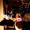 Sirius l'illusionniste - neige japonaise - spectacle restaurant l'arlequin vieux-charmont