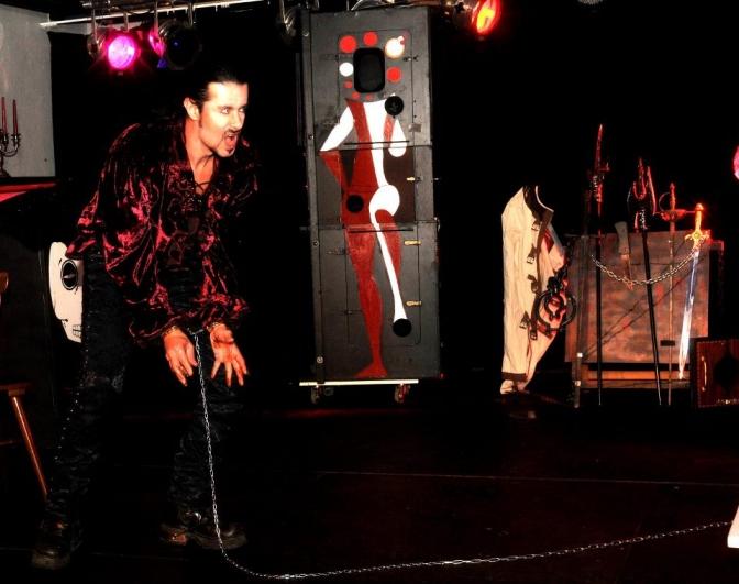 Sirius l'illusionniste 'La revanche du vampire'
