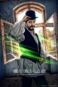 Affiche Sirius l'illusionniste - photo de Zakary Belamy