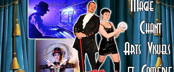 Réservez votre place pour la soirée gratuite du cabaret Décontr'Actes 2 du 30 juin 2016 ! Magie, Illusion, Burlesque, Arts Visuels ! Du grand spectacle avec Gwam et Olivier, Venusia et Sirius !