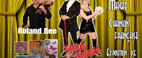 Réservez votre place pour la soirée gratuite du cabaret Décontr'Actes 3 du 05 Août 2016 ! Magie, Illusion, Chanson française et Peinture ! Du grand spectacle avec Roland Bee, Venusia et Sirius, peintures de Muriel Menigot !