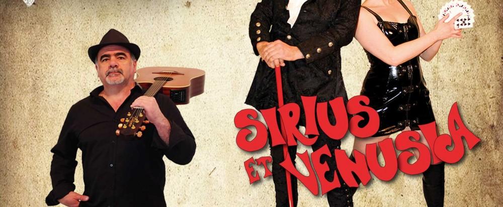 5ème édition du Cabaret Décontr'Actes ! Sirius, Venusia et Roland BEE – à Dasle le 11 novembre 2016