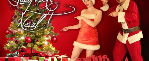 Sirius et Venusia vous souhaitent un Joyeux Noël ! Magie, Illusion et Spectacle !