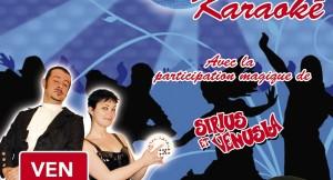 Soirée costumée, dansante et karaoké au restaurant l'Arlequin à Vieux-charmont, le 24 février 2017 avec Sirius et Venusia