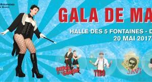 Gala de Magie – Delle, 20 mai 2017 – Sirius et Venusia, Le Valet de Coeur, Tibo et Javi
