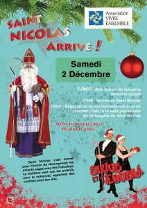 Spectacle magie enfants Sirius Venusia Illusion Saint Nicolas
